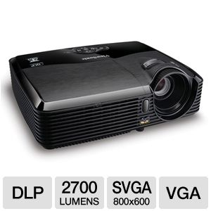 ViewSonic PJD5123 SVGA 3D Ready DLP Projector