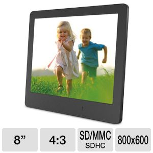 "ViewSonic 8"" Digital Photo Frame"