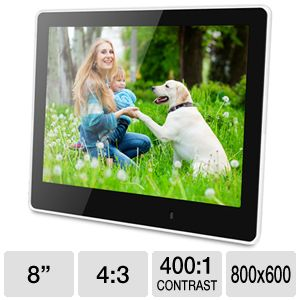 ViewSonic 8&quot; Digital Photo Frame