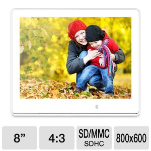 "ViewSonic 8"" Multimedia Digital Photo Frame"
