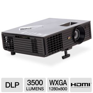 Viewsonic PJD6553w WXGA Widescreen DLP Projector