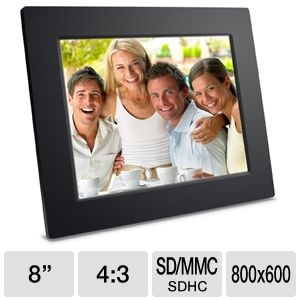 "Viewsonic VFD823-50 8"" Digital Photo Frame"