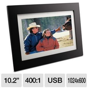 "Viewsonic 10.2"" LCD Digital Photo Frame"