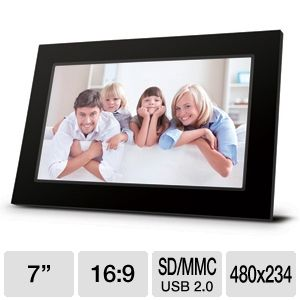 Viewsonic VFA720W-50 7&quot; Digital Photo Frame 