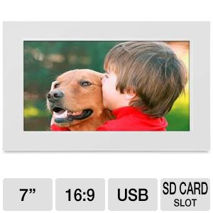 "Viewsonic VFA720W-70 7"" Digital Photo Frame"