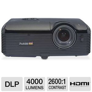 Viewsonic PRO8400 4000 Lumens 1080p DLP Projector