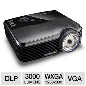 ViewSonic PJD7583w WXGA DLP Short Throw Projector