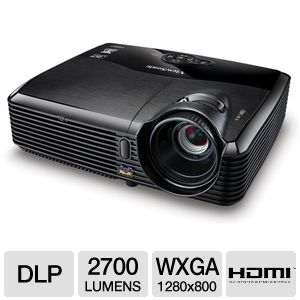 ViewSonic PJD5523w WXGA HDMI DLP Projector
