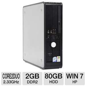 Dell Optiplex 755 Core 2 Duo 80GB HDD Desktop PC