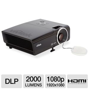 Vivitek H1081 High Performance 1080p DLP Projector