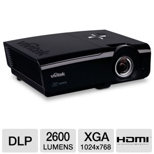 Vivitek D925TX XGA Short Throw DLP Projector