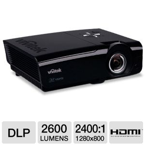 Vivitek D927TW WXGA Short Throw DLP Projector