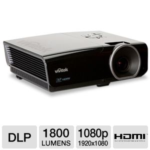 Vivitek H1082 1080p Home Theater DLP Projector