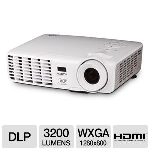 Vivitek D538W-3D WXGA Widescreen DLP 3D Projector 