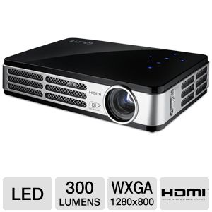 Vivitek Qumi-B Q2 WXGA 3D LED Pocket Projector