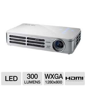 Vivitek Qumi Q2 WXGA 3D LED Pocket Projector White