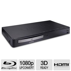 Vizio VBR133 3D Blu-ray Disc Player