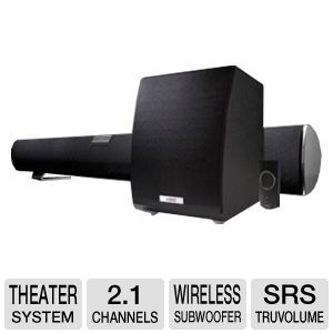 Vizio VHT210 SoundBar Home Theater System 