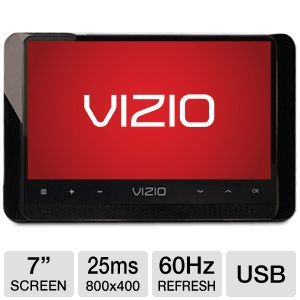 Vizio 7&quot; Class Edge Lit Razor Portable LED TV