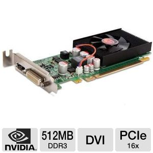 NVIDIA GeForce 210 SFF 512MB DDR3 PCIe