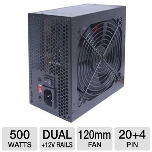 VisionTek 500W ATX PSU