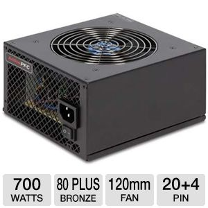 VisionTek 700W Modular Series Power Supply