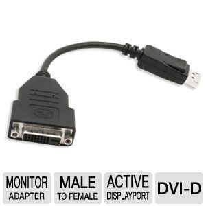 VisionTek Active DisplayPort to DVI-D Adapter