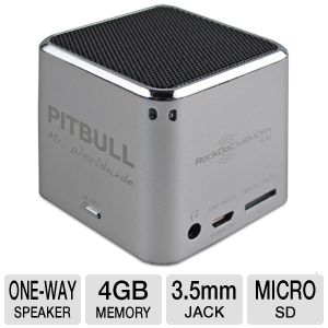 VisionTek RockDoc PITBULL Power Speaker & Player