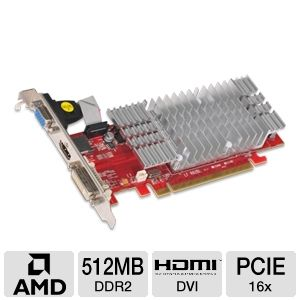 Visiontek Radeon HD 3450 512MB Video Card
