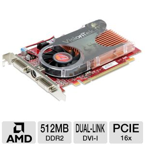 VisionTek Radeon HD 3650 512MB DDR2 Video Card