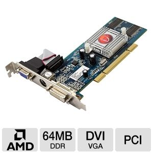 Visiontek Radeon 7000 64MB PCI Video Card