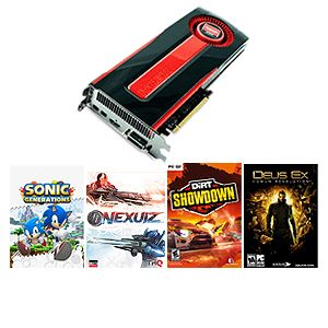 VisionTek Radeon HD 7970 3GB GDDR5 Video Ca Bundle