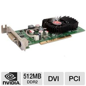 Visiontek GeForce 8400 GS 512MB DDR2 Video Card