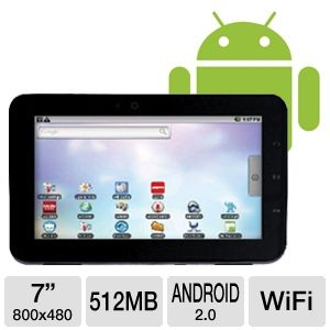 Velocity Micro T103 Cruz Android 2 Internet Tablet