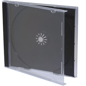 BK Media  25-Pack Standard Jewel Cases