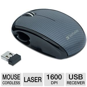 Verbatim Nano Wireless Notebook Mouse