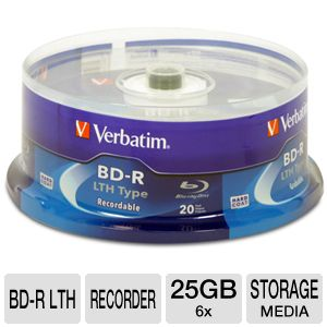 Verbatim Blu-Ray Storage Media