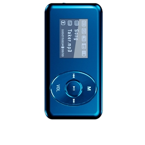 Visual Land ME-963-4GB-BLU V-Clip Pro MP3 Player