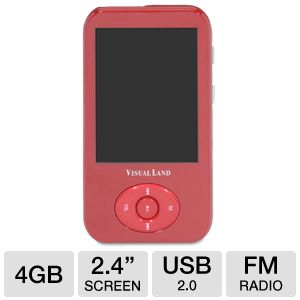 Visual Land V-Motion Pro MP4 Player