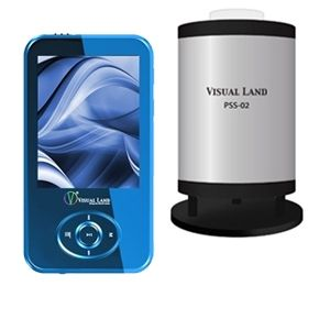 Visual Land V-Motion Pro MP4 Player Bundle