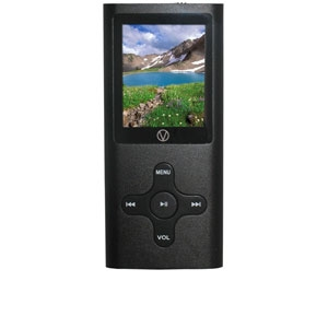 Visual Land VL-567K-C-4GB-BLK 4GB MP3 Player