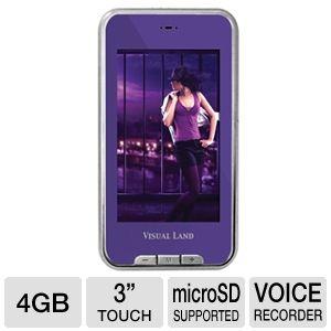 Visual Land V-Touch Pro MP4 Player