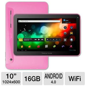 Visual Land Prestige 10&quot; 16GB Android 4.0 Tablet