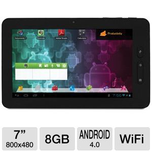Visual Land Connect 7&quot; 8GB Android 4.0 Tablet