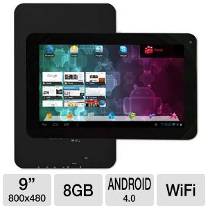 "Visual Land Connect 9"" Android 4.0 8GB Tablet"