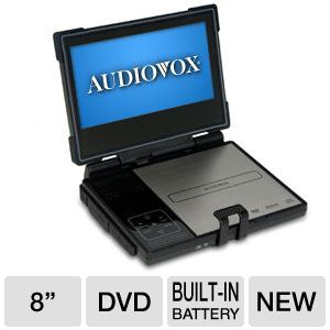 "Audiovox 8"" Display Portable DVD Player"