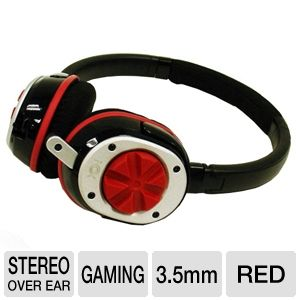 NOX Audio 2837877 Specialist Gaming Bundle - Red