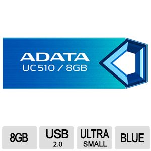 ADATA DashDrive Choice UC510 8GB USB Flash Drive