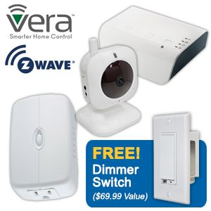 Vera Z-Wave Starter  Kit w/ Free Dimmer Switch
