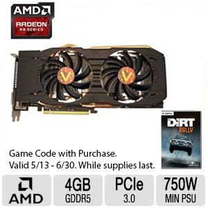 VisionTek Radeon R9 290X Video Card